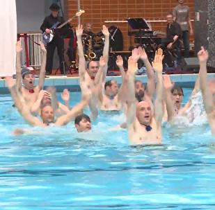 法國爸爸們的花樣游泳