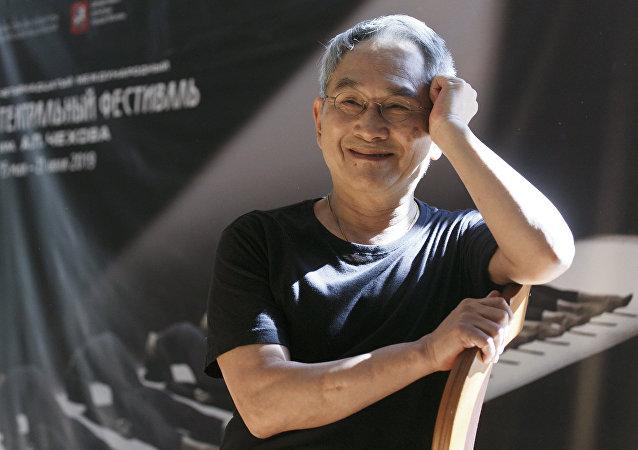 台湾著名编舞家林怀民