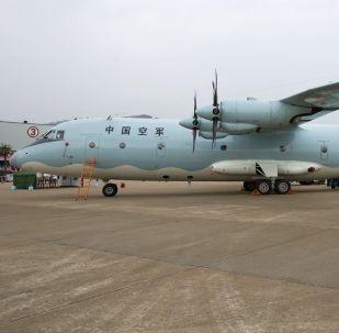 Китайский транспортный самолет Shaanxi Y-9