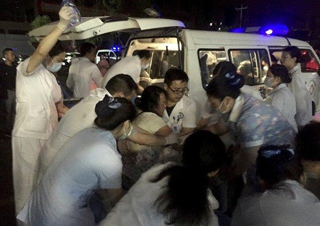 華媒:四川長寧地震134人受傷14人獲救