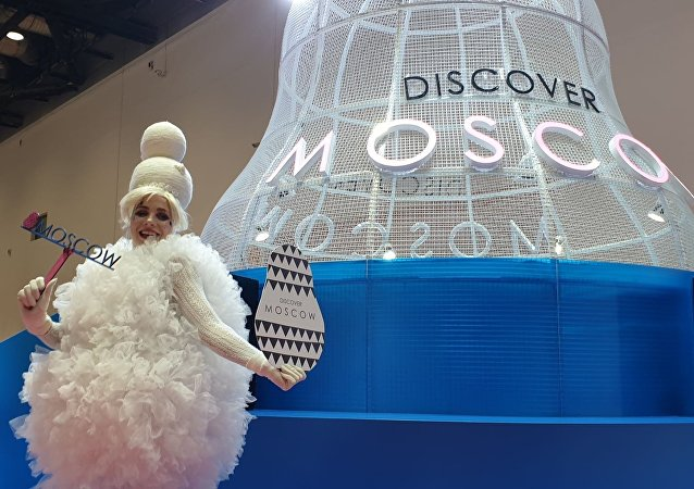 莫斯科展台在北京國際旅遊博覽會上獲獎