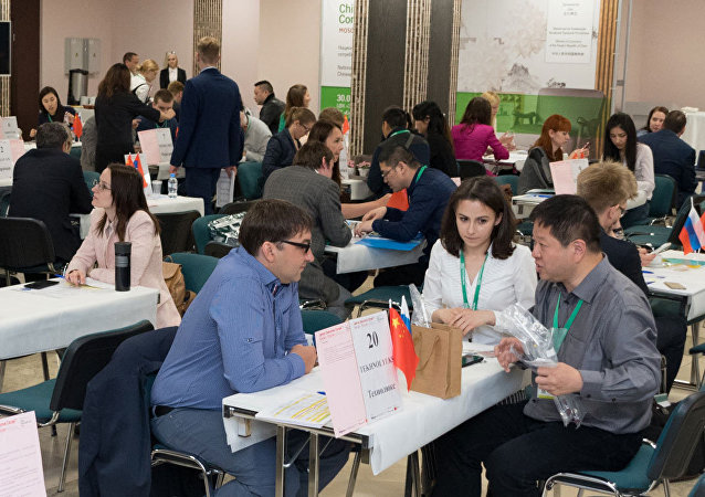 莫斯科中國消費品牌展已拉開序幕