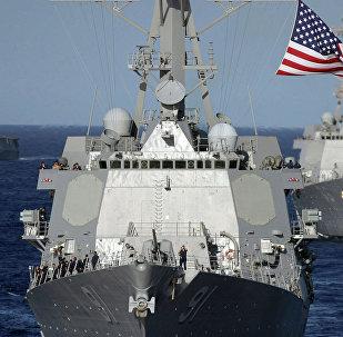 外媒:美國政治學家:在南海部署艦船是在挑釁中國