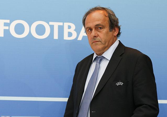 歐洲足聯前主席米歇爾·普拉蒂尼