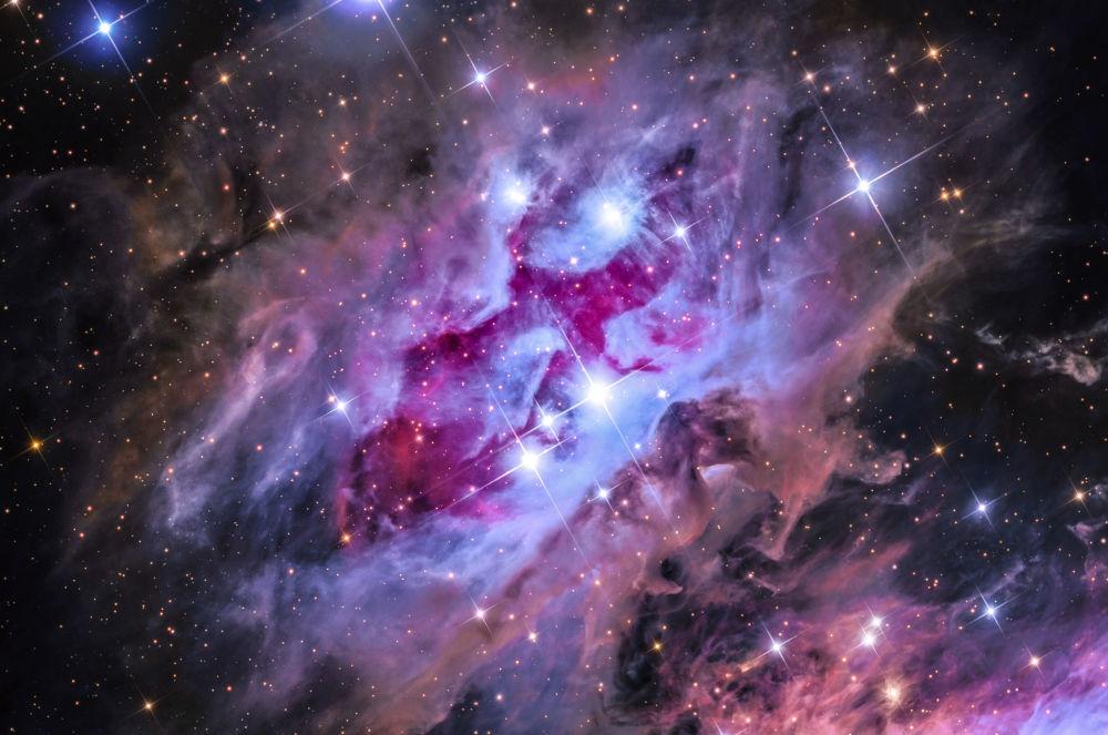 澳大利亞攝影師Steven Mohr 的作品The Running Man Nebula