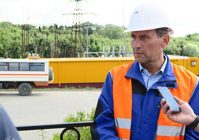 加里寧格勒琥珀聯合企業發展和建設副總經理維克托·科斯特切夫