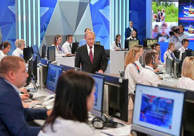 普京谈及美国网络袭击俄能源系统:我们应该作出反应