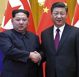 习近平在朝鲜受到双重礼遇:朝方举办两次欢迎仪式