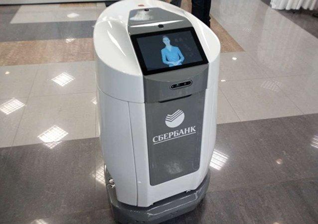 中国帮助俄罗斯储蓄银行开发机器人快递员