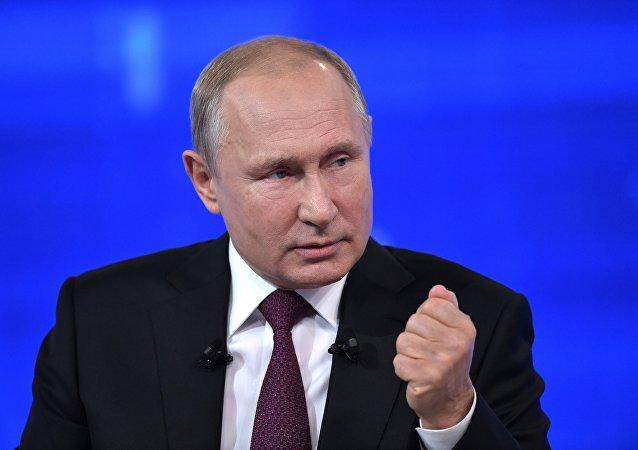 普京称军品出口计划超额完成