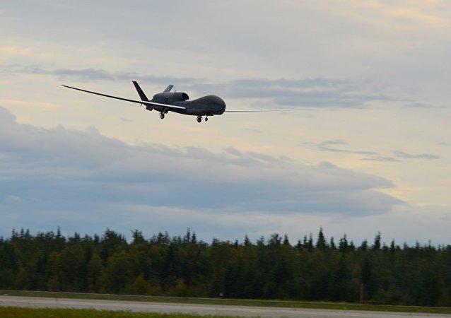 「全球鷹」無人機(資料圖片)