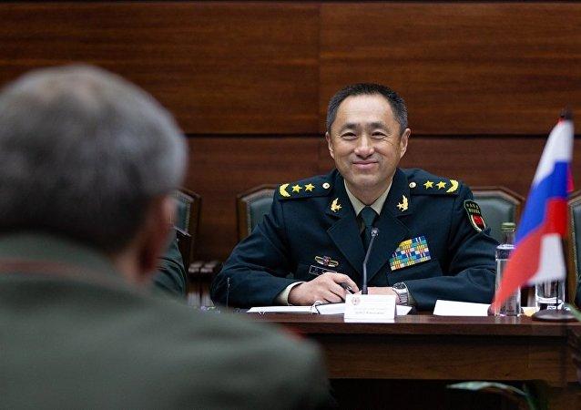 中国中央军委联合参谋部副参谋长邵元明(资料图片)
