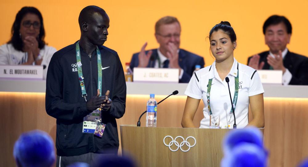 奥运难民队