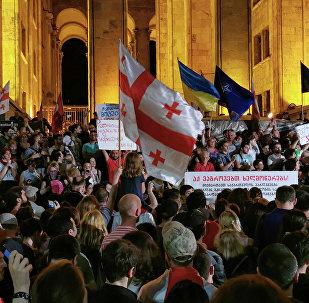 第比利斯抗议活动