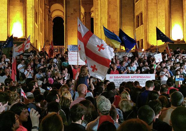 第比利斯抗議活動