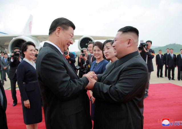 习近平访朝非常成功 双方明确提出下一步双边关系发展的重点领域