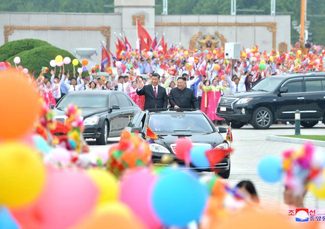 朝鮮媒體:金正恩與習近平就重要問題達成一致並鞏固信任