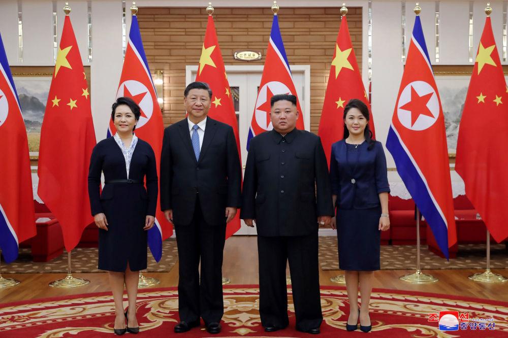 中国国家主席首次对朝鲜进行国事访问