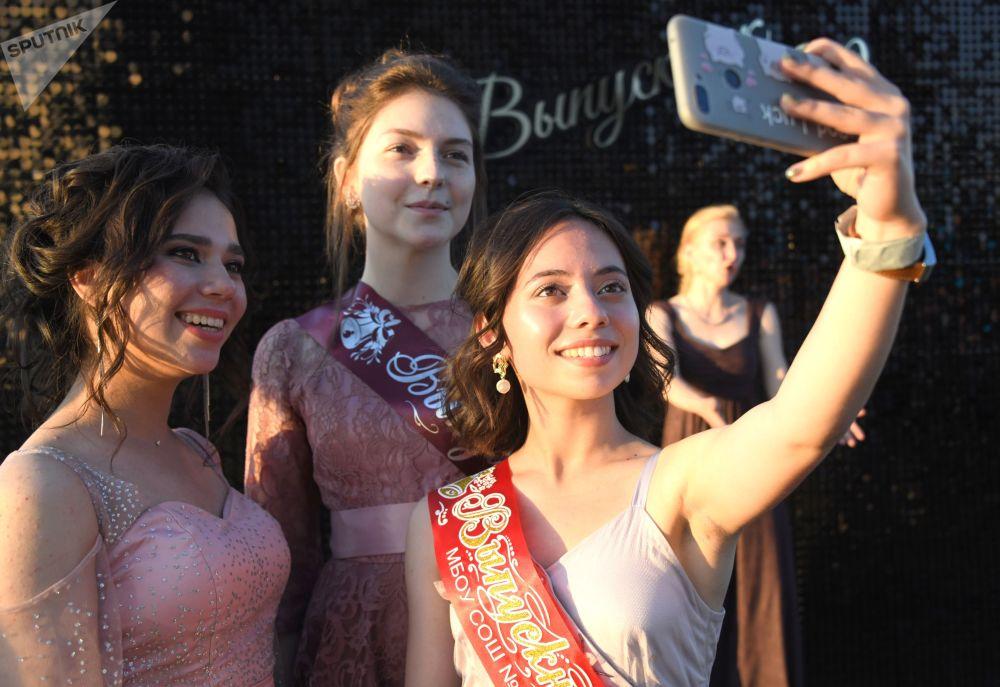 赤塔中学生毕业典礼
