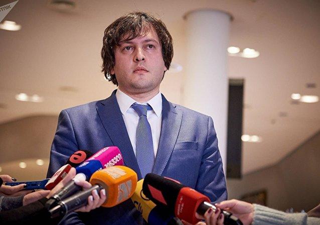 格魯吉亞執政黨稱議長辭職