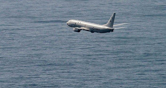 美国P8飞机(资料图片)