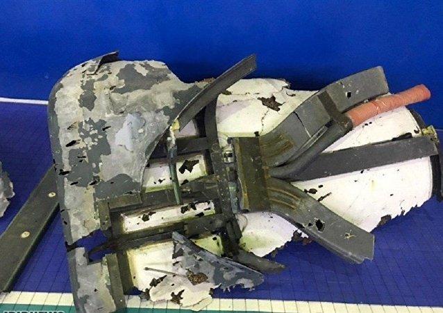 伊朗公開展示美國無人機殘骸