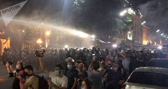 俄外交部发言人认为格鲁吉亚示威活动为挑衅事件