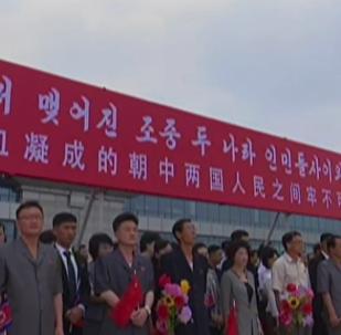 中國國家主席首次對朝鮮進行國事訪問
