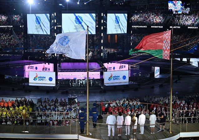 第二届欧洲运动会在明斯克开幕