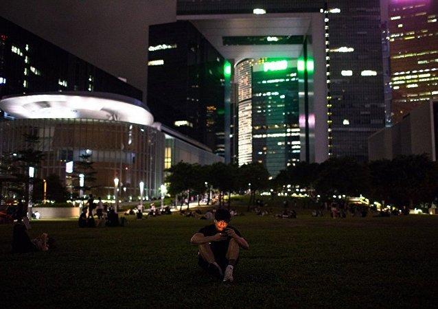 中国外交部驻香港公署:坚决反对外部势力插手香港事务