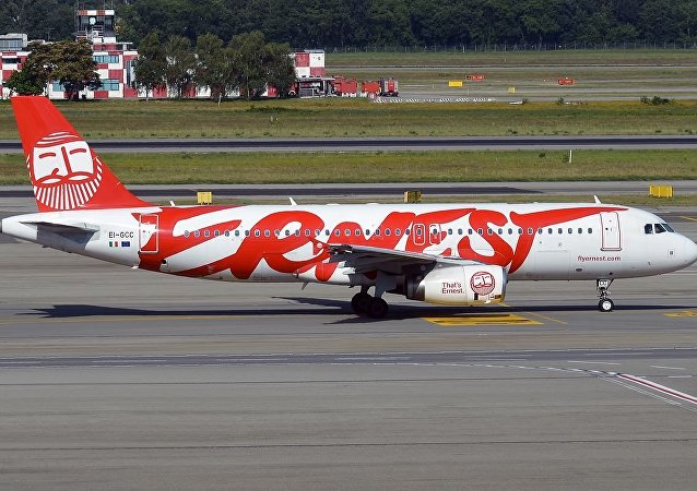 意大利Ernest航空公司一架A320客機