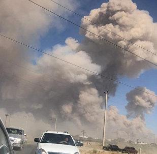哈總理:哈薩克斯坦南部軍火庫爆炸事故的遇難人數增至2人