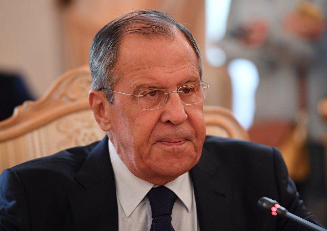 俄羅斯外長拉夫羅夫