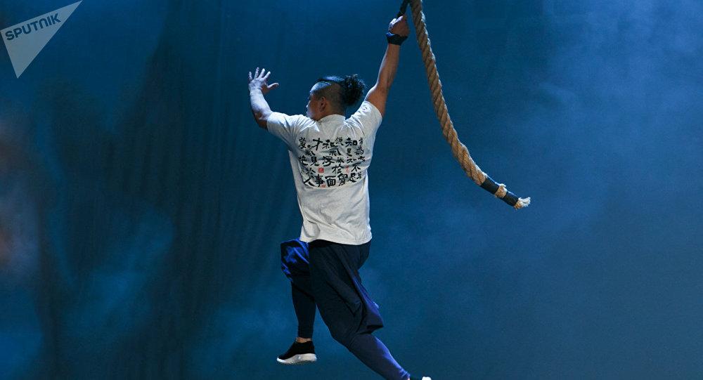 中華龍韻功夫團的演出成為莫斯科契訶夫國際戲劇節最受歡迎的表演