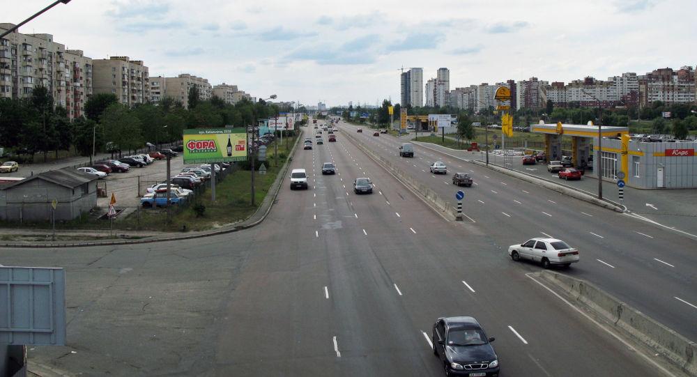 Вид на проспект Генерала Ватутина.