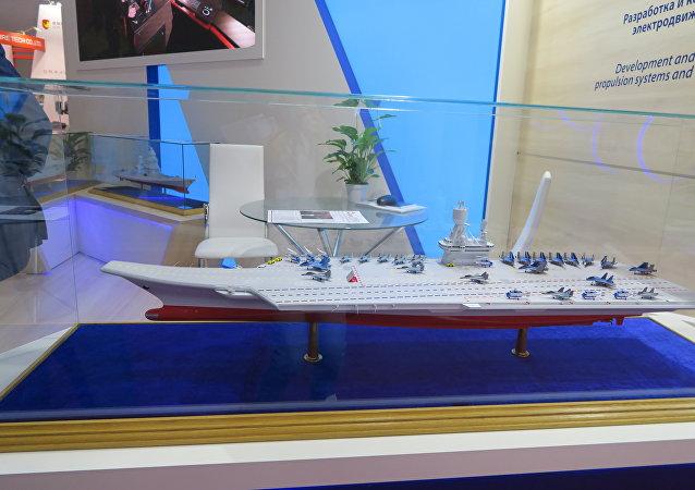 俄海军总司令:俄将建造核动力航母