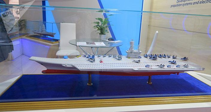 俄海軍總司令:俄將建造核動力航母