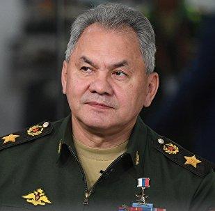 Министр обороны РФ Сергей Шойгу на V Международном военно-техническом форуме Армия-2019.