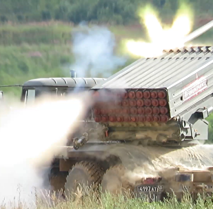 """军队-2019""""国际军事技术论坛 —— 阿拉比诺靶场军事装备动态展示"""