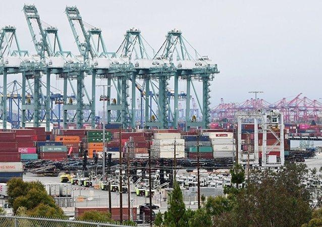 上半年中国对美贸易总额为1.75万亿元 同比下降9%