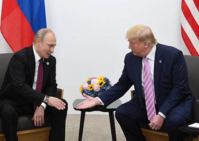 特朗普與普京