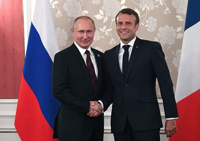 普京:俄法关系对维系欧洲安全起到重要作用