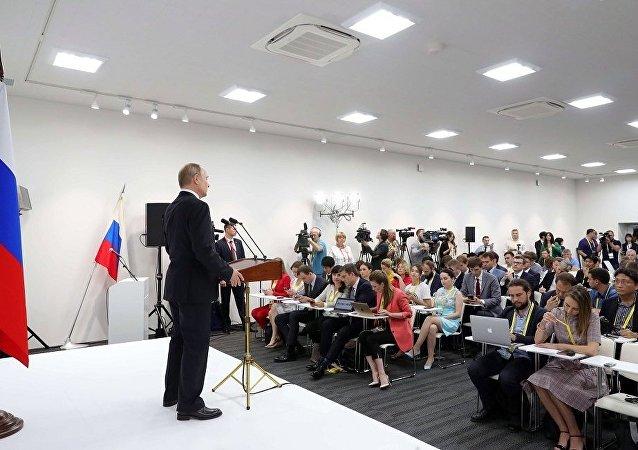 普京:俄打算全面執行巴黎氣候協定