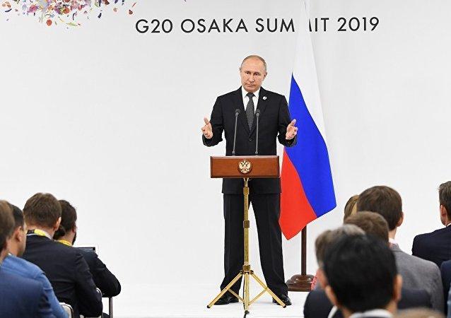 普京:相關方面將繼續利用烏克蘭問題「諾曼底模式」
