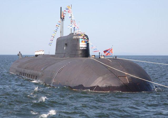"""""""鄂木斯克""""号核潜艇"""