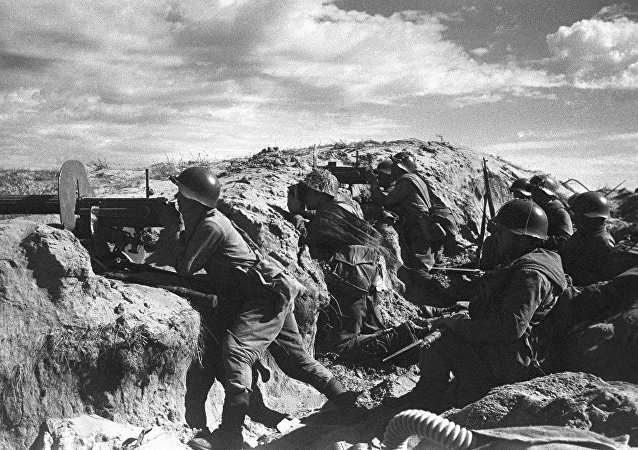 哈拉哈河战役中的苏联红军