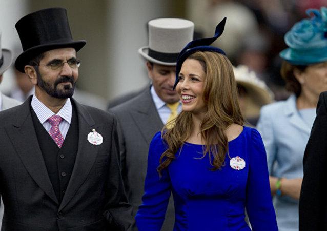 迪拜酋長謝赫·穆罕默德·本·拉希德的妻子哈雅公主