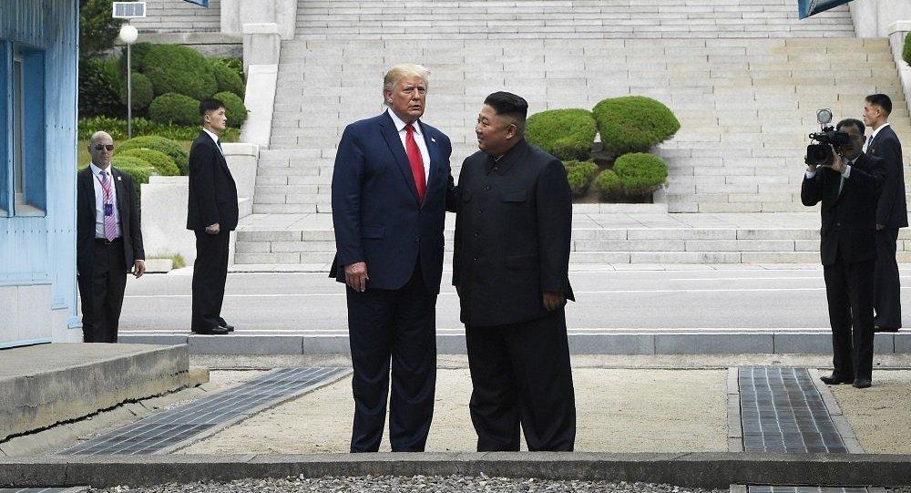金正恩和特朗普
