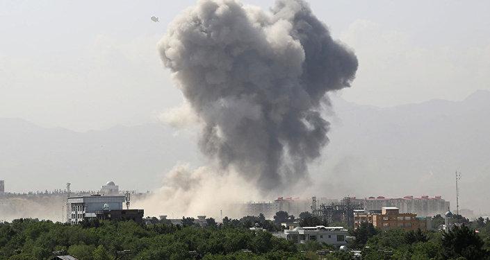 喀布爾爆炸事件(資料圖片)