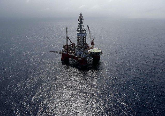 墨西哥灣的石油平台(資料圖片)